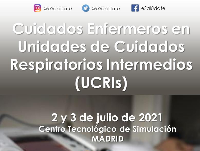 Curso teórico-práctico: Cuidados enfermeros en unidades de cuidados respiratorios intermedios (UCRIs) [2-3 Julio]