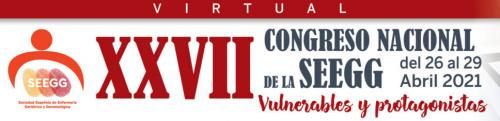 XXVII Congreso Nacional SEEGG [26-29 Abril]