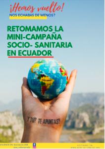 Campaña Socio-sanitaria AISE (Asociación Internacional de Sanitarios en España)[Marzo 2022]