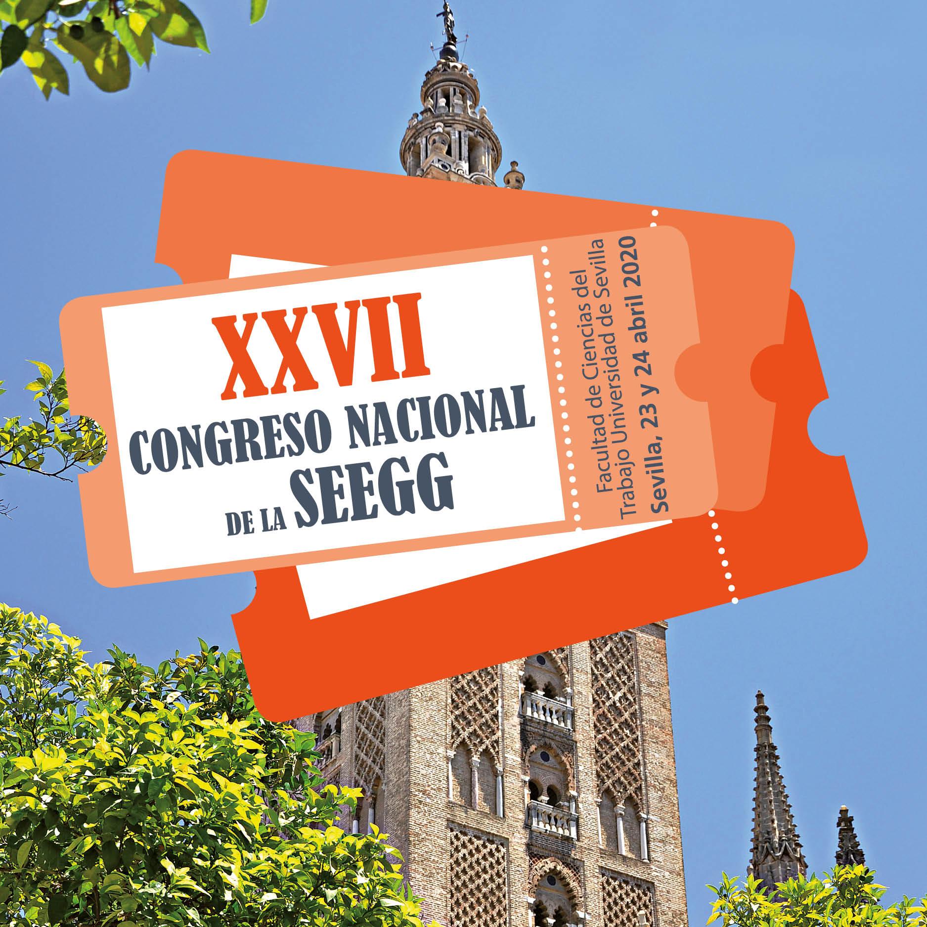 Cambio de fechas para el XXVII Congreso Nacional de SEEGG [Abril 2021]